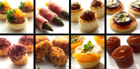 Garibaldi group of restaurants for Canape catering singapore